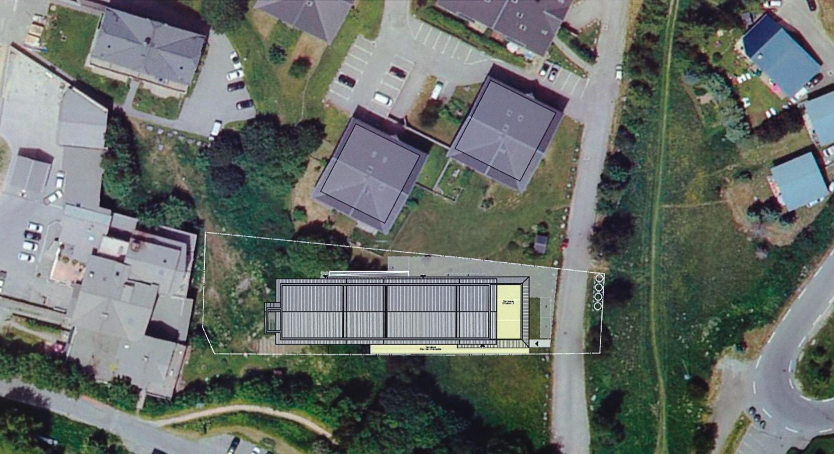 Projet Hostel Lodge integration dans la surface